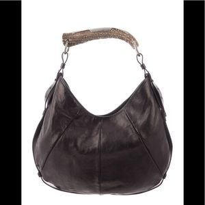 Black YSL purse